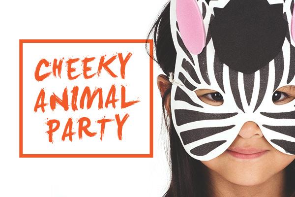 Cheeky Animal Party Program