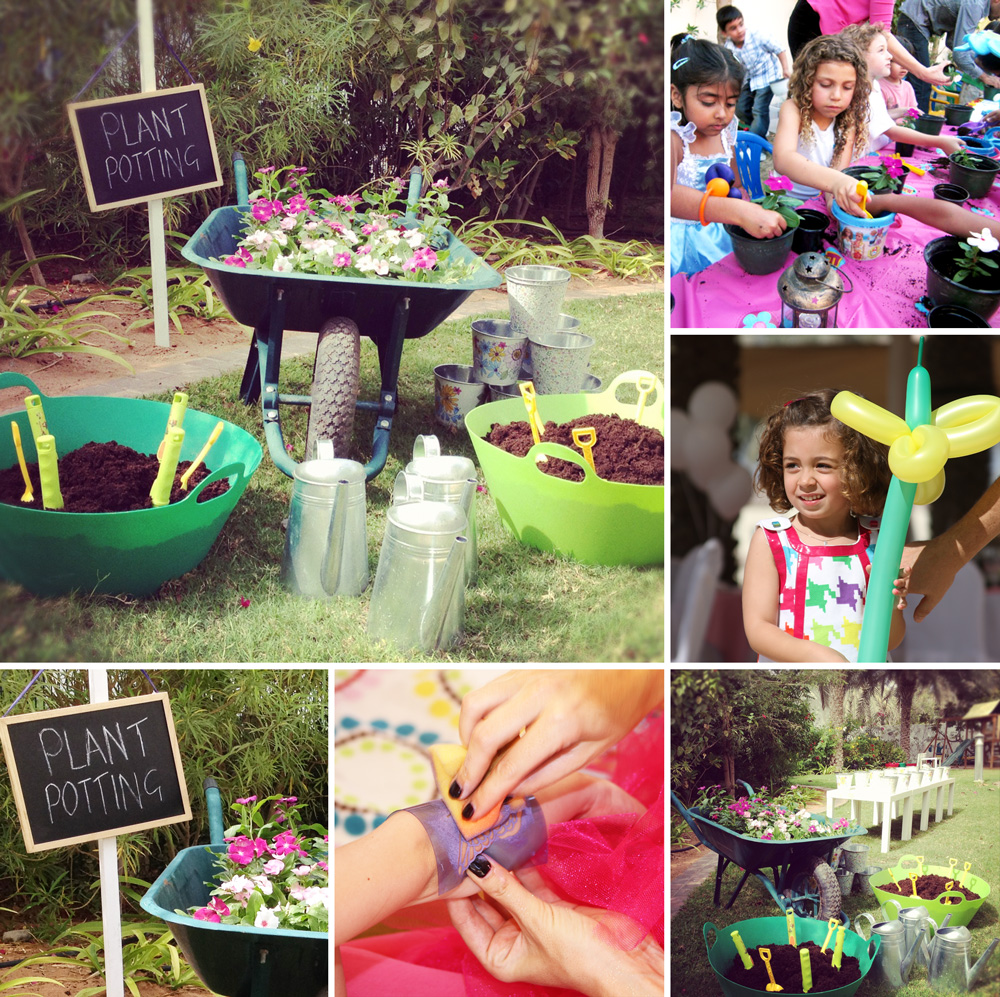 Green Fingers Garden Themed Birthday Party