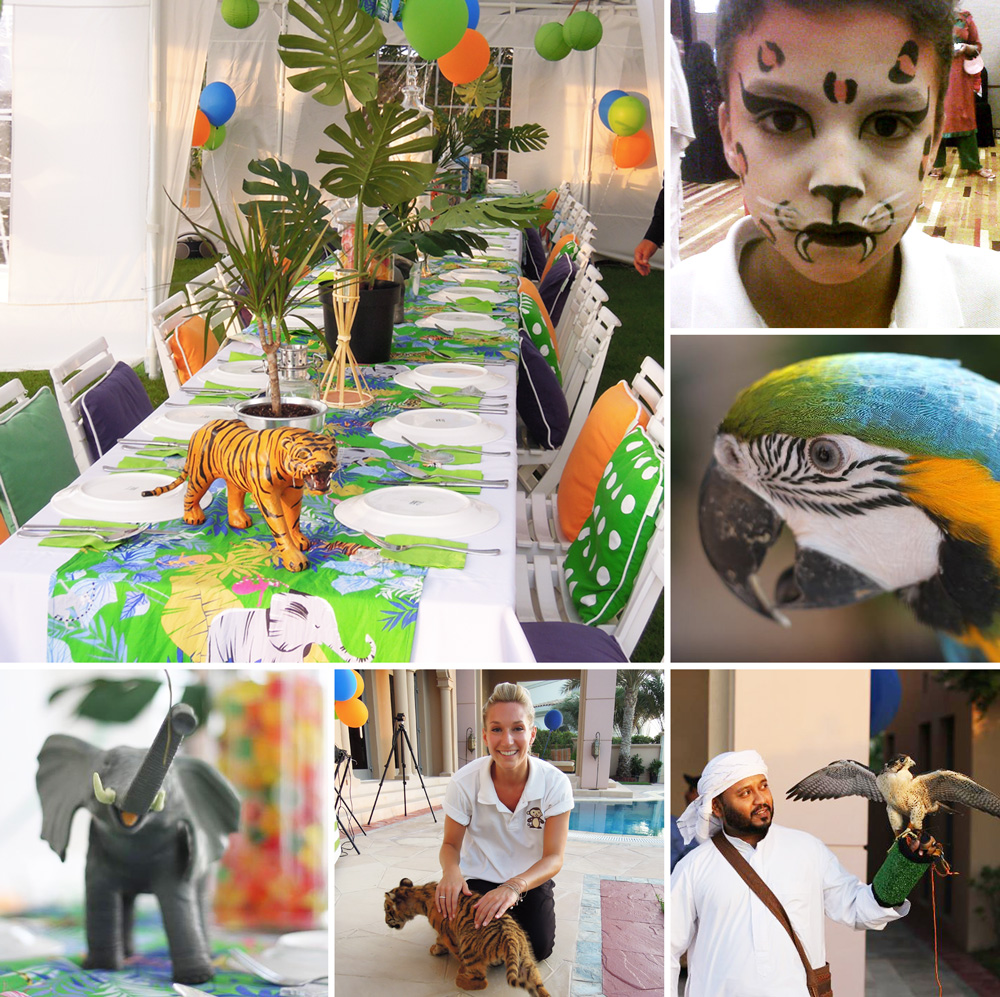 4c8e720f55f24 Jungle Themed Birthday Party Package