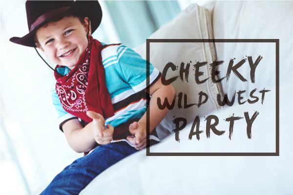Cheeky Wild West Party Program